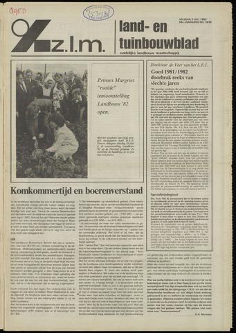 Zeeuwsch landbouwblad ... ZLM land- en tuinbouwblad 1982-07-02
