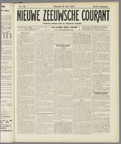 Nieuwe Zeeuwsche Courant 1907-07-30