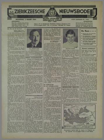 Zierikzeesche Nieuwsbode 1941-03-03