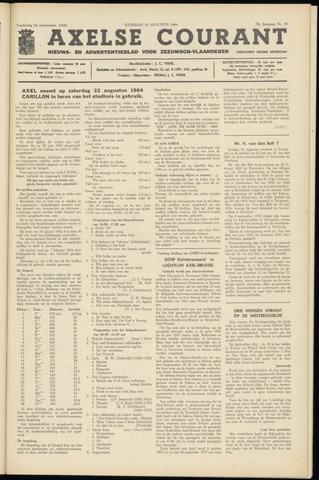 Axelsche Courant 1964-08-22