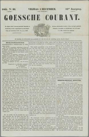 Goessche Courant 1865-12-01