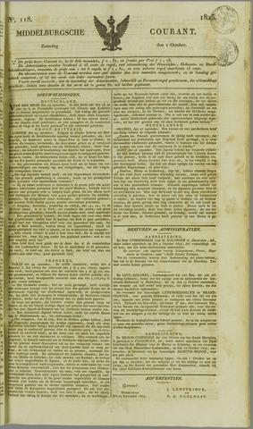 Middelburgsche Courant 1825-10-01