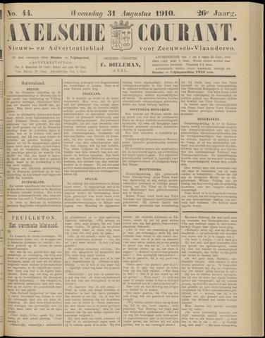 Axelsche Courant 1910-08-31