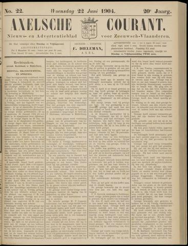 Axelsche Courant 1904-06-22