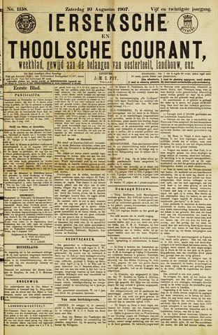 Ierseksche en Thoolsche Courant 1907-08-10