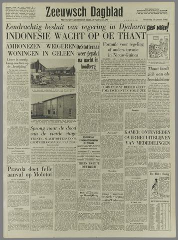 Zeeuwsch Dagblad 1962-01-18