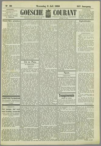 Goessche Courant 1930-07-09