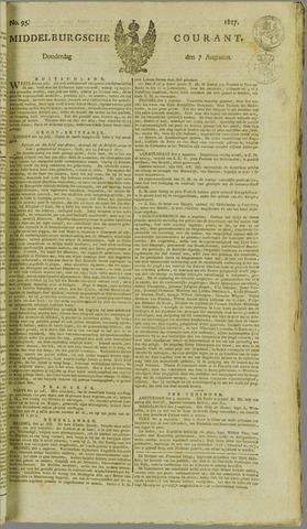 Middelburgsche Courant 1817-08-07