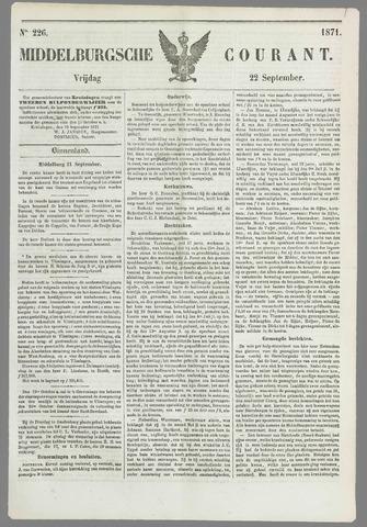 Middelburgsche Courant 1871-09-22