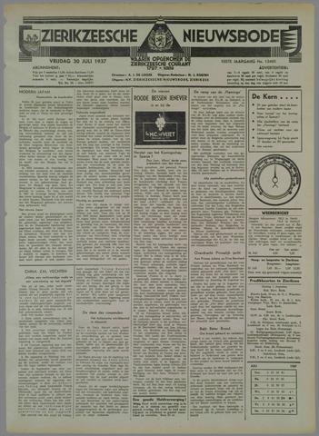 Zierikzeesche Nieuwsbode 1937-07-30