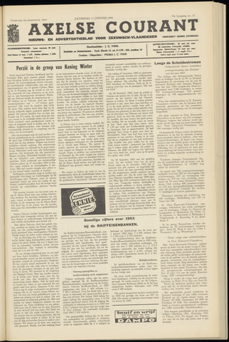 Axelsche Courant 1964-01-11