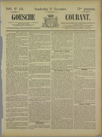 Goessche Courant 1885-11-12
