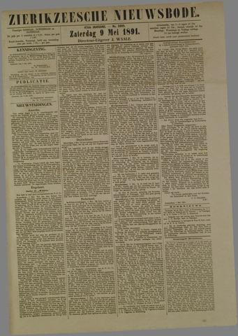 Zierikzeesche Nieuwsbode 1891-05-09