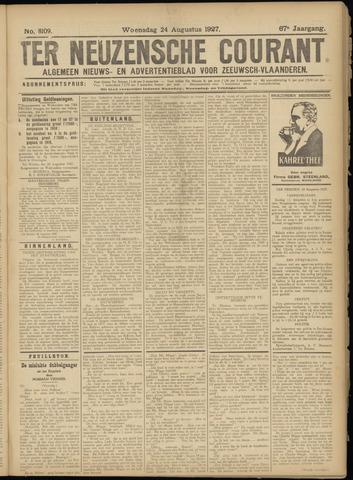 Ter Neuzensche Courant. Algemeen Nieuws- en Advertentieblad voor Zeeuwsch-Vlaanderen / Neuzensche Courant ... (idem) / (Algemeen) nieuws en advertentieblad voor Zeeuwsch-Vlaanderen 1927-08-24