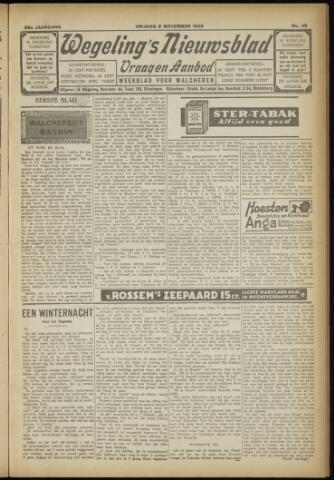 Zeeuwsch Nieuwsblad/Wegeling's Nieuwsblad 1929-11-08
