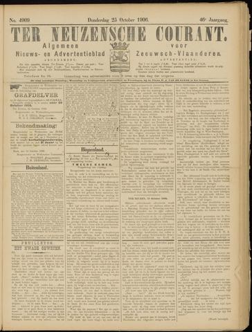 Ter Neuzensche Courant. Algemeen Nieuws- en Advertentieblad voor Zeeuwsch-Vlaanderen / Neuzensche Courant ... (idem) / (Algemeen) nieuws en advertentieblad voor Zeeuwsch-Vlaanderen 1906-10-25