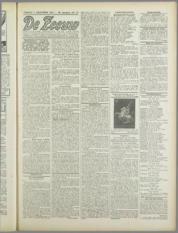 De Zeeuw. Christelijk-historisch nieuwsblad voor Zeeland 1943-12-03