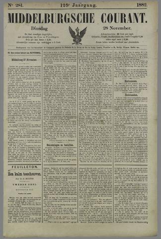 Middelburgsche Courant 1882-11-28