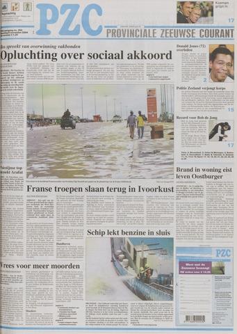 Provinciale Zeeuwse Courant 2004-11-08