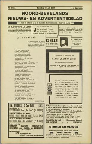 Noord-Bevelands Nieuws- en advertentieblad 1938-07-23