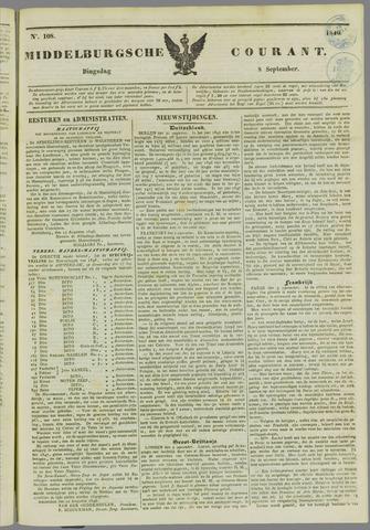 Middelburgsche Courant 1846-09-08