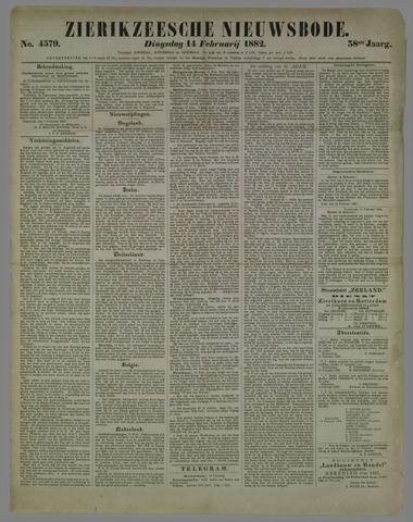 Zierikzeesche Nieuwsbode 1882-02-14