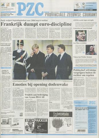 Provinciale Zeeuwse Courant 2002-10-09