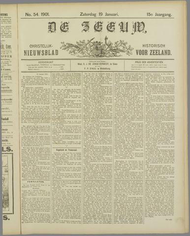 De Zeeuw. Christelijk-historisch nieuwsblad voor Zeeland 1901-01-19