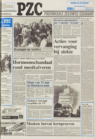 Provinciale Zeeuwse Courant 1987-02-06