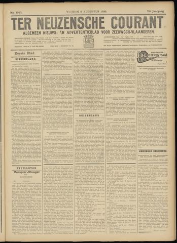 Ter Neuzensche Courant. Algemeen Nieuws- en Advertentieblad voor Zeeuwsch-Vlaanderen / Neuzensche Courant ... (idem) / (Algemeen) nieuws en advertentieblad voor Zeeuwsch-Vlaanderen 1930-08-08