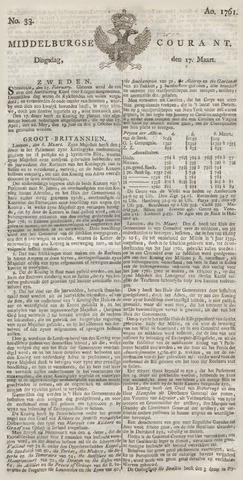 Middelburgsche Courant 1761-03-17