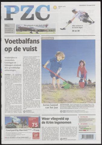Provinciale Zeeuwse Courant 2014-03-10