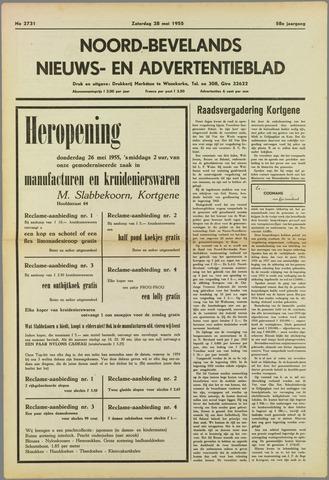 Noord-Bevelands Nieuws- en advertentieblad 1955-05-28