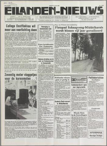 Eilanden-nieuws. Christelijk streekblad op gereformeerde grondslag 1985-07-09