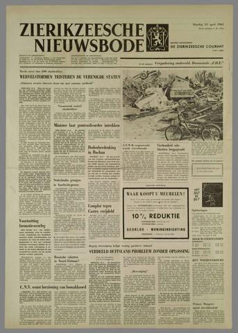 Zierikzeesche Nieuwsbode 1965-04-13