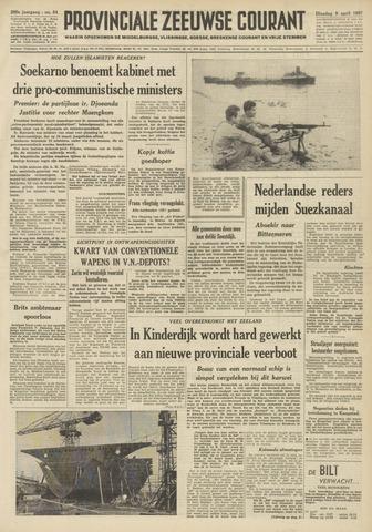 Provinciale Zeeuwse Courant 1957-04-09
