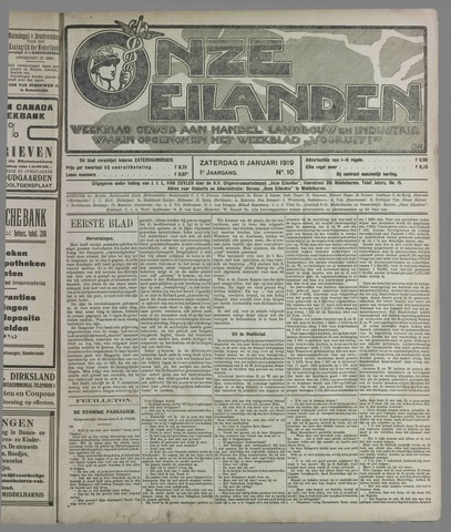 Onze Eilanden 1919-01-11