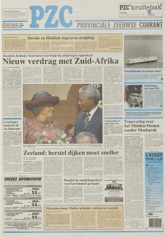 Provinciale Zeeuwse Courant 1996-10-01
