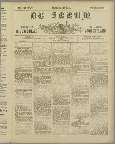 De Zeeuw. Christelijk-historisch nieuwsblad voor Zeeland 1904-06-21