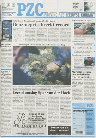 Provinciale Zeeuwse Courant 2001-05-11