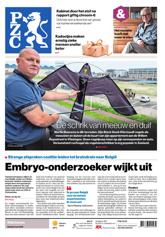 Provinciale Zeeuwse Courant 2018-06-05