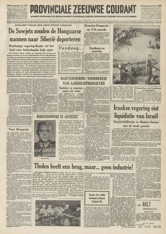 Provinciale Zeeuwse Courant 1956-11-14