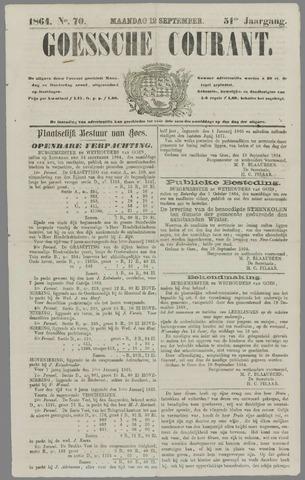 Goessche Courant 1864-09-12