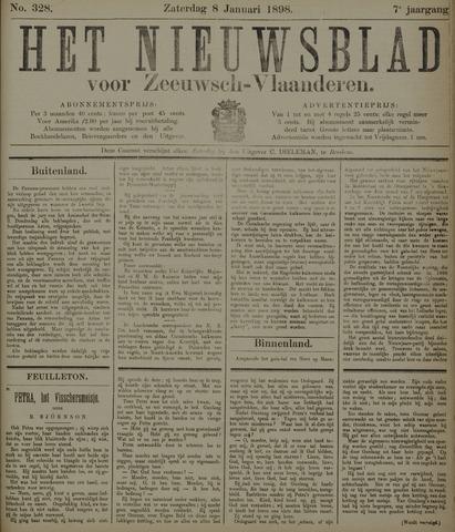 Nieuwsblad voor Zeeuwsch-Vlaanderen 1898-01-08