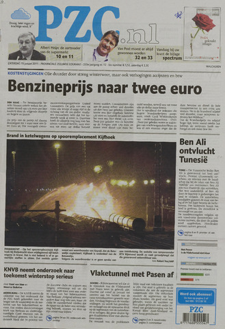 Provinciale Zeeuwse Courant 2011-01-15