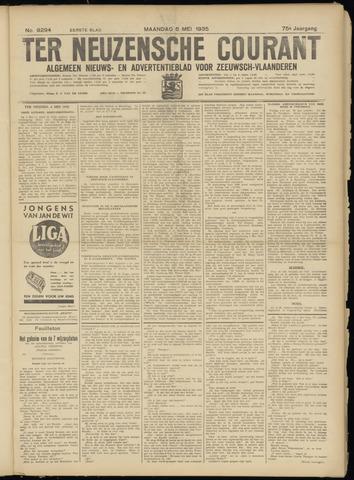 Ter Neuzensche Courant. Algemeen Nieuws- en Advertentieblad voor Zeeuwsch-Vlaanderen / Neuzensche Courant ... (idem) / (Algemeen) nieuws en advertentieblad voor Zeeuwsch-Vlaanderen 1935-05-06