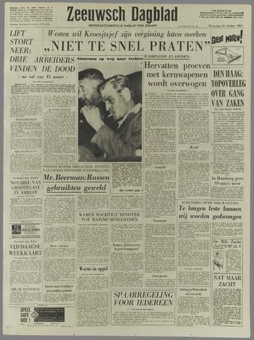 Zeeuwsch Dagblad 1961-10-25