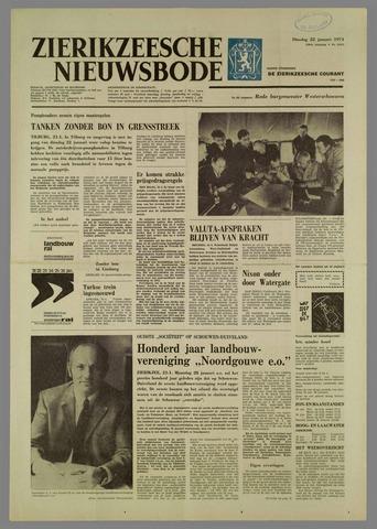 Zierikzeesche Nieuwsbode 1974-01-22