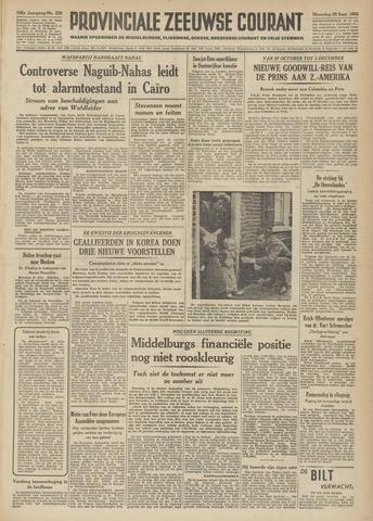 Provinciale Zeeuwse Courant 1952-09-29