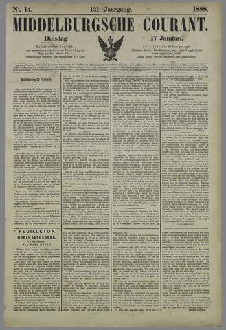 Middelburgsche Courant 1888-01-17